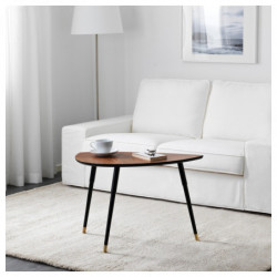 HILVER Table bamboo 140x65...