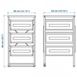 TV bench with doors BESTA