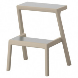 table and 2 stools...